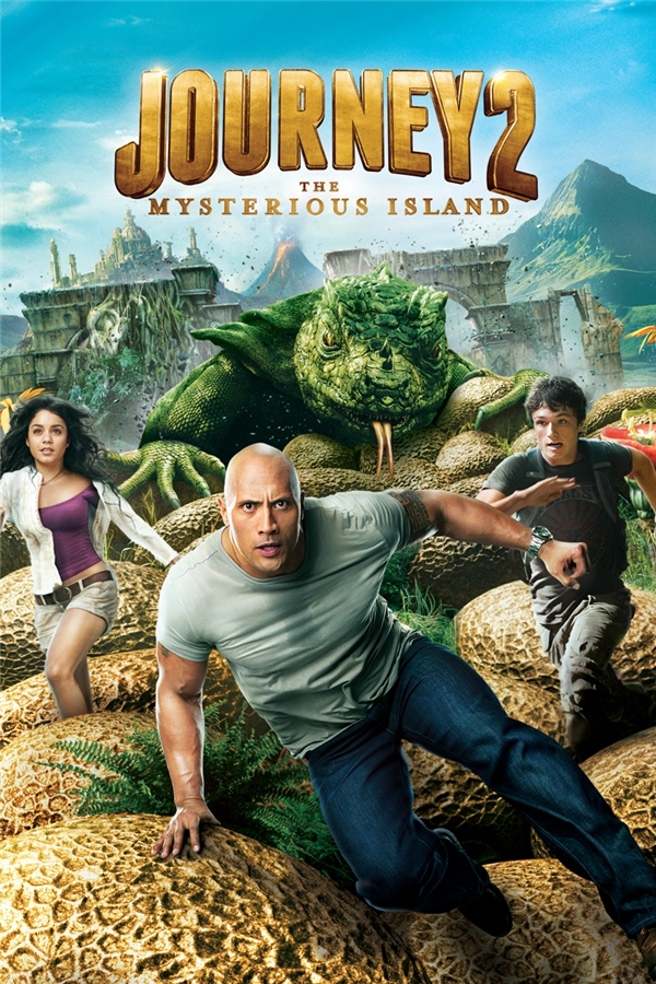Journey 2: The Mysterious Island (2012): Không thể tin được Josh Hutcherson và Vanessa Hudgens lại có thể sải chân chạy như thể trên đồng vắnggiữa những quả trứng san sát nhau như thế này.