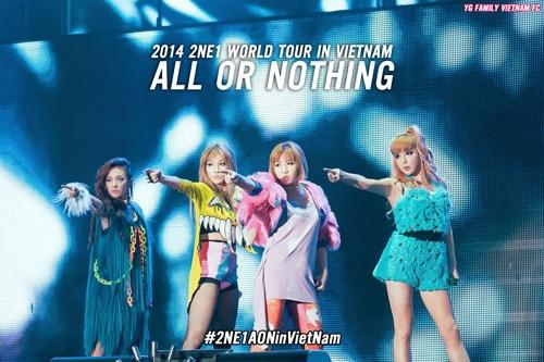 HOT: Fan 2NE1 nháo nhào chuẩn bị đón Dara sang Việt Nam