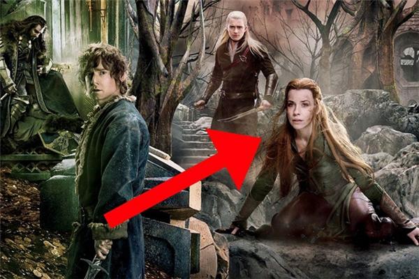 The Hobbit: The Battle of the Five Armies (2014): Có cái gì đó sai sai ở cái đầu của Evangeline Lily, nó quá to.