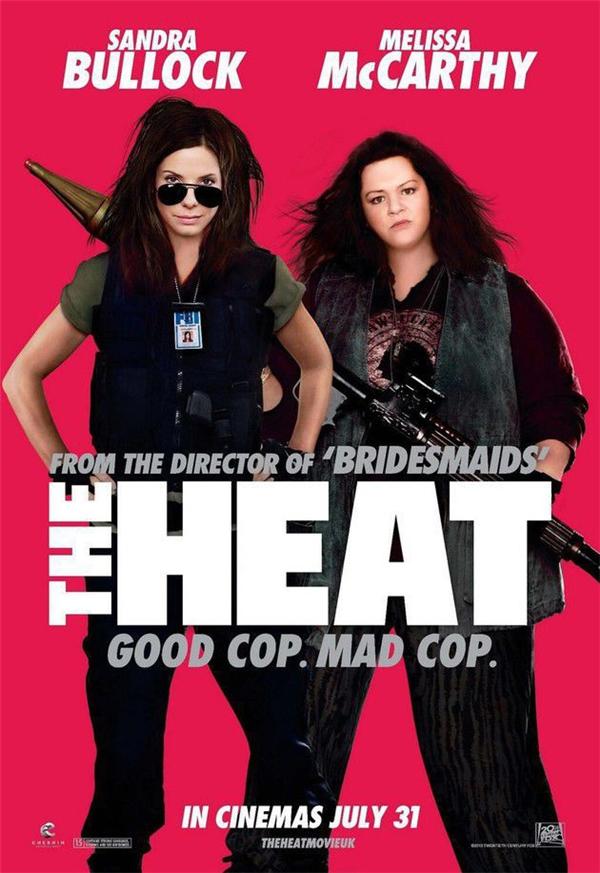 The Heat (2013): Người ta đã lỡ cắt gọt quá đà khuôn mặt của Melissa McCarthy rồi sao không gọt luôn phần thân của cô ấy nhỉ?