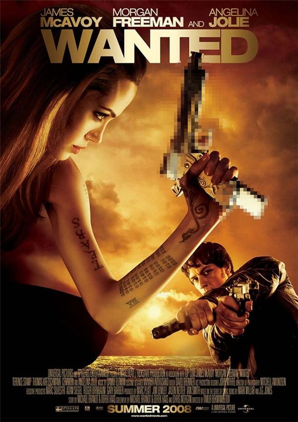 Wanted (2008): Vì sao Angelina Jolie chỉ có 4 ngón tay?