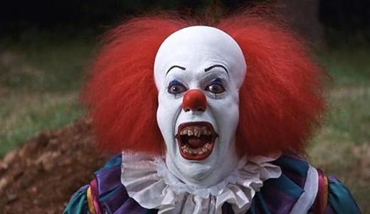Chú hề trongIt là một trong những nhân vật tà ác nguy hiểm nhất của Stephen King.