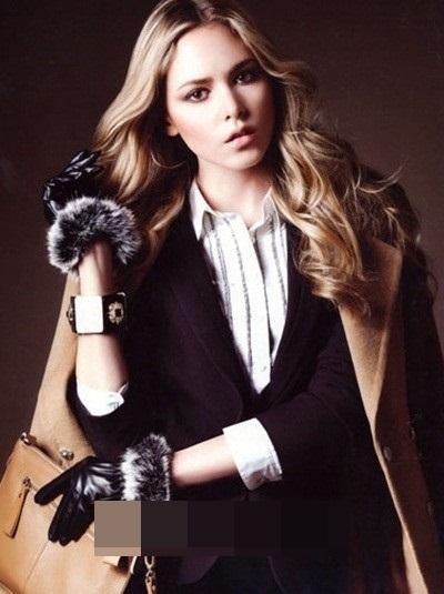 Cô nàng thường xuất hiện trên các tạp chí thời trang.