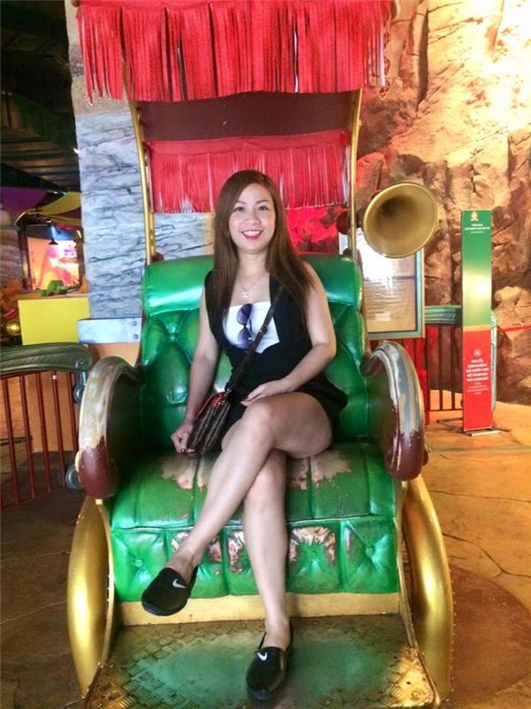 Chân dung chị Huệ - Việt kiều Đan Mạch mất tích bí ẩn tại chợ Cồn, Đà Nẵng. (Ảnh FBNV)