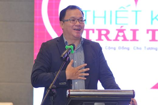 Ông Ee Soon Hean - Tổng giám đốc Công ty TNHH Nippon Paint Việt Namphát biểu tại chung kết NPYDA 2015.