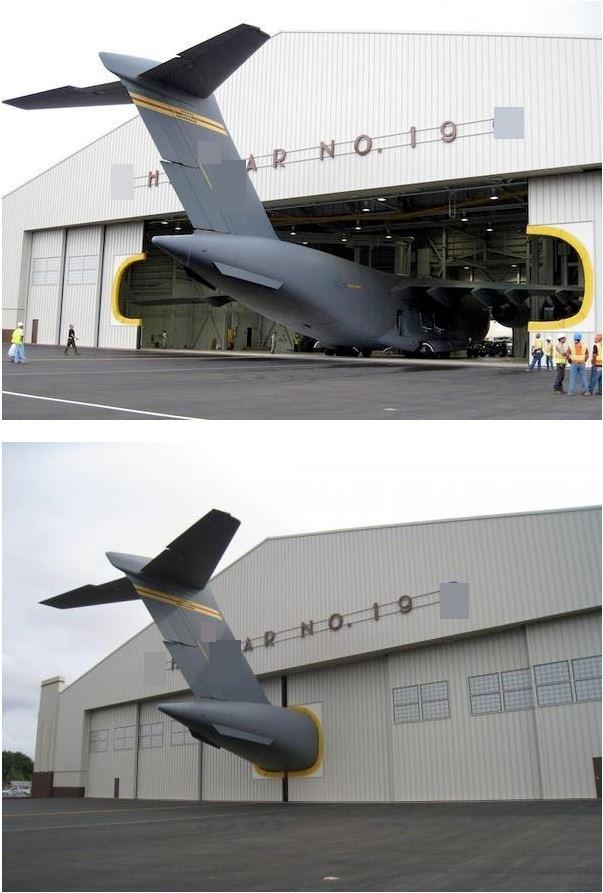 """Khi máy bay trở nên""""oversize""""."""