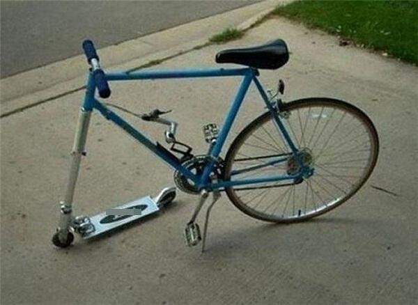 Xe đạp thời nay không chỉ2 bánhđâu nhé.