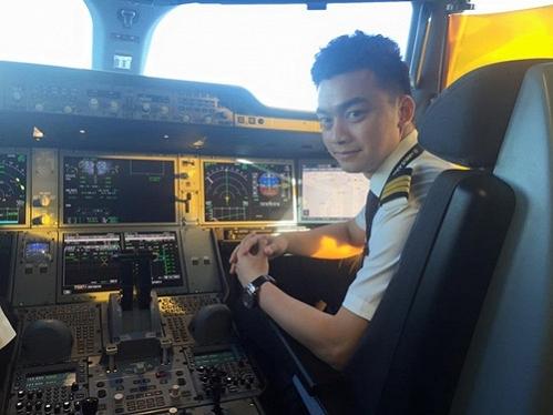 Hiện Hà Duy đang là cơ phó cho hãng Hàng không Quốc gia Việt Nam.