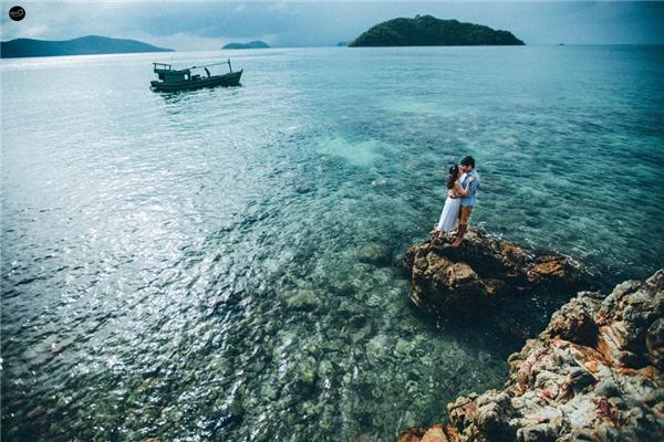 Bộ ảnh cưới của cặp đôi này được thực hiện bởi nhiếp ảnh giaKim Ơicùng ê-kíp. (Ảnh: Kim Ơi)