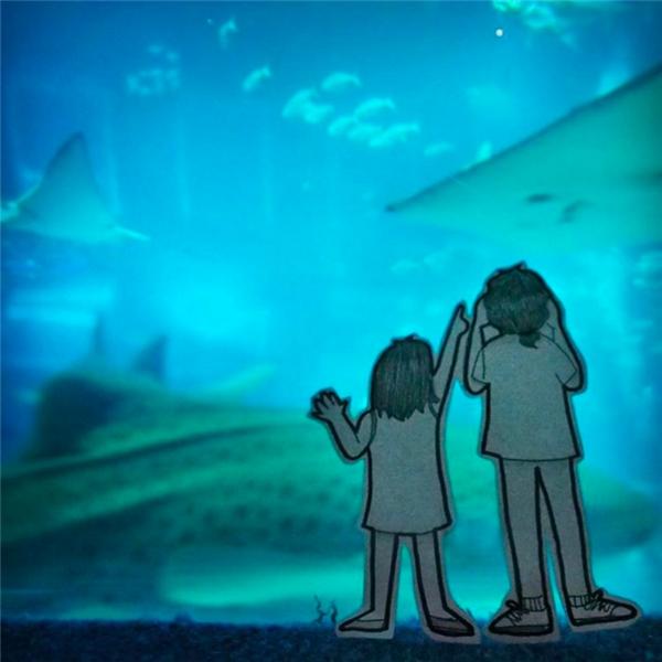 """Abang và Neng """"check-in"""" ở đâu, tức là ở đó Felicia và Andreas đã đặt chân tới. (Ảnh: Internet)"""