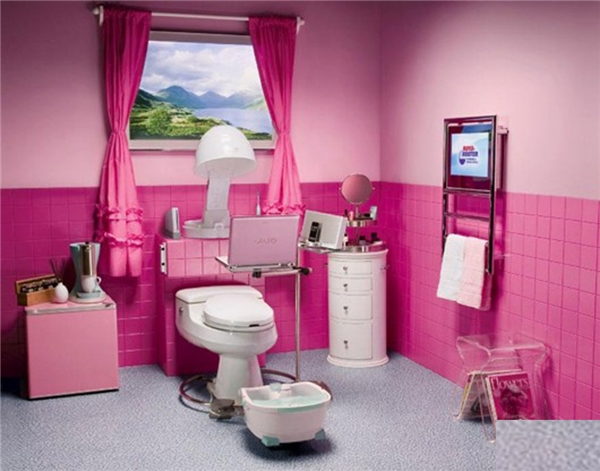 Có ai nhận ra đây là nhà vệ sinh không nhỉ, hay là phòng ngủ?