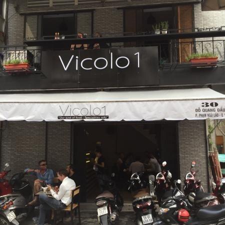 Cửa hàng Vicolo1 tại 30 Đỗ Quang Đẩu, Phạm Ngũ Lão, quận 1.