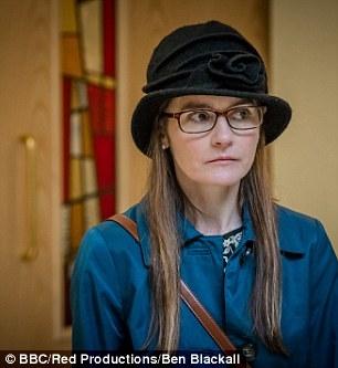 Tạo hình của nữ diễn viên trong một bộ phim gần đây.(Ảnh: Internet)