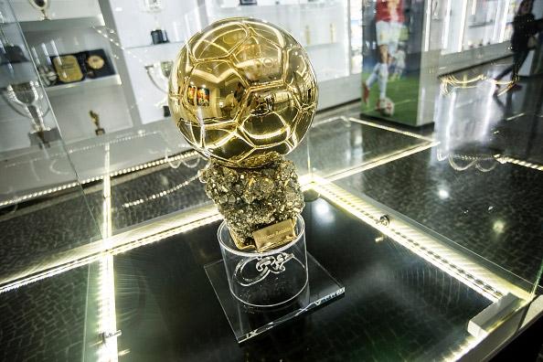 Quả bóng vàng của Ronaldo. (Ảnh: internet)