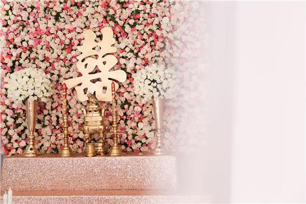 Không gian ngập tràn sắc hoa trong lễ ăn hỏi Thanh Bình và Ngọc Lan - Tin sao Viet - Tin tuc sao Viet - Scandal sao Viet - Tin tuc cua Sao - Tin cua Sao
