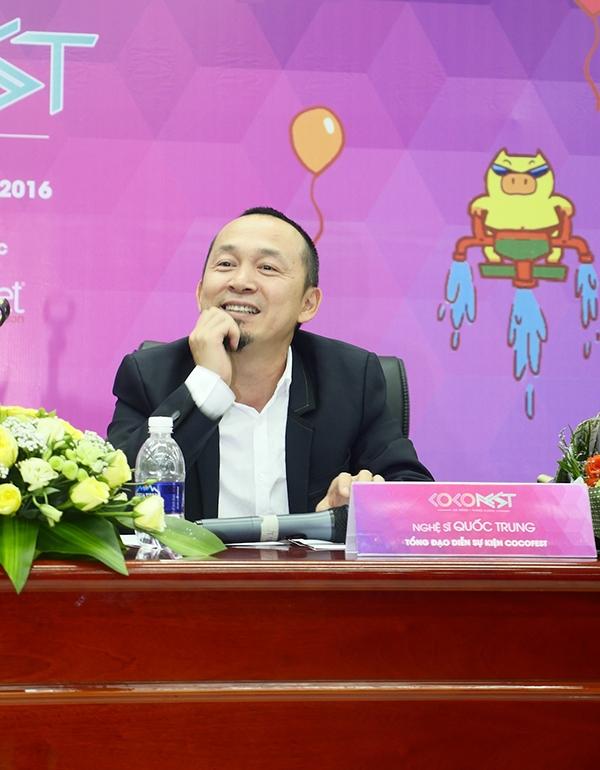 Sự kiện Cocofest lần đầu tiên với chủ đề Sắc màu nhiệt đớiđược tổng đạo diễn bởi nghệ sĩ - nhạc sĩQuốc Trung.