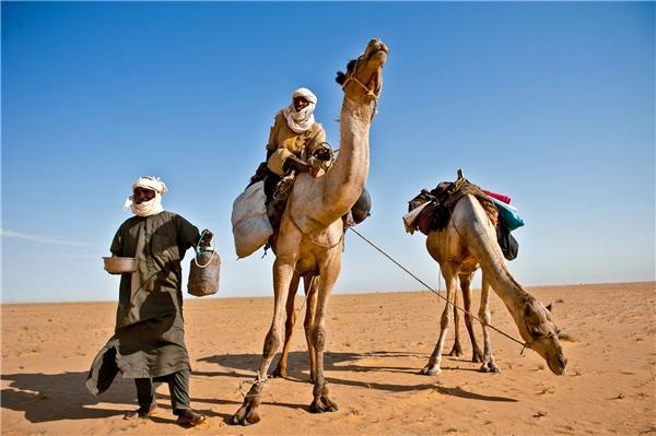 Một vùng sa mạc thuộcChad.
