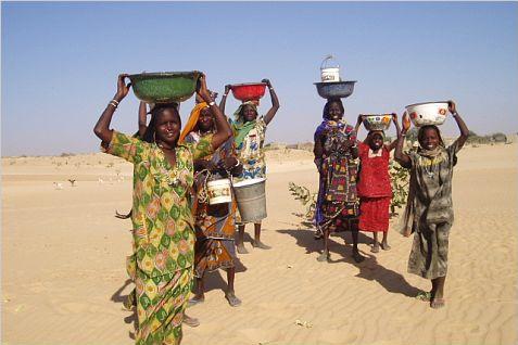 Vấn nạn thiếu nước sạch tại Chad.