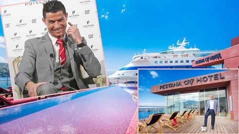 Khách sạnPestana CR7 của Ronaldo. (Ảnh: internet)