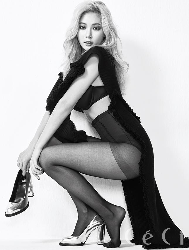 HyunA là cái tên đứng đầu danh sách nghệ sĩ sexy nhất xứ Hàn. (Ảnh: Internet)