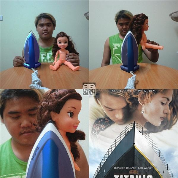 Jack - Rosecủa Chuyện tình Titanic.(Ảnh: Internet)