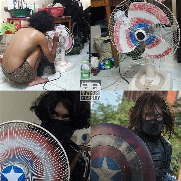 Bạn có muốn một lần thử làm siêu anh hùngCaptain America.(Ảnh: Internet)