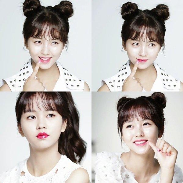 Kim So Hyun trong sáng và đáng yêu khiến bao người hâm mộ ngất ngây.