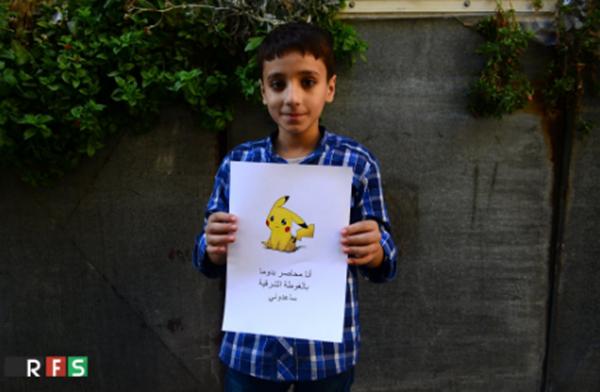 Hiện nay có khoảng 35.000 trẻ em đang nằm trong vòng vây ở thành phố Manbij, Syria. (Ảnh: RFS)