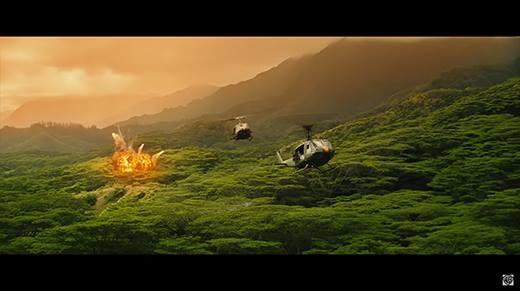 Choáng ngợp trước cảnh đẹp Việt Nam trong trailer Kong: Skull Island