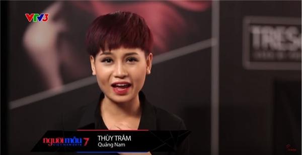 """Thùy Trâm cho rằng: """"Ngay từ lần đầu tiên gặp La Thanh Thanh thì cô ấy đã vênh mặt. với tính cách như thế này thì ai có thể chịu được cô ấy"""" hay """"Chị ấy đã phủ nhận sự thật và ép tôi trở thành 1 con người nói dối""""."""