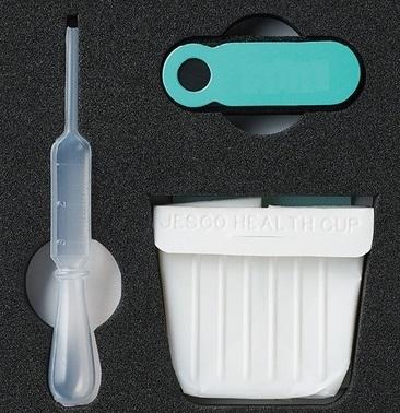 Bộ dụng cụ để kiểm tra tinh trùng. (Ảnh: internet)