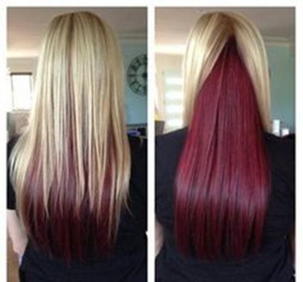 Đây là mái tóc có thể đổi màu vô cùng ảo diệu trong vòng 1 nốt nhạc