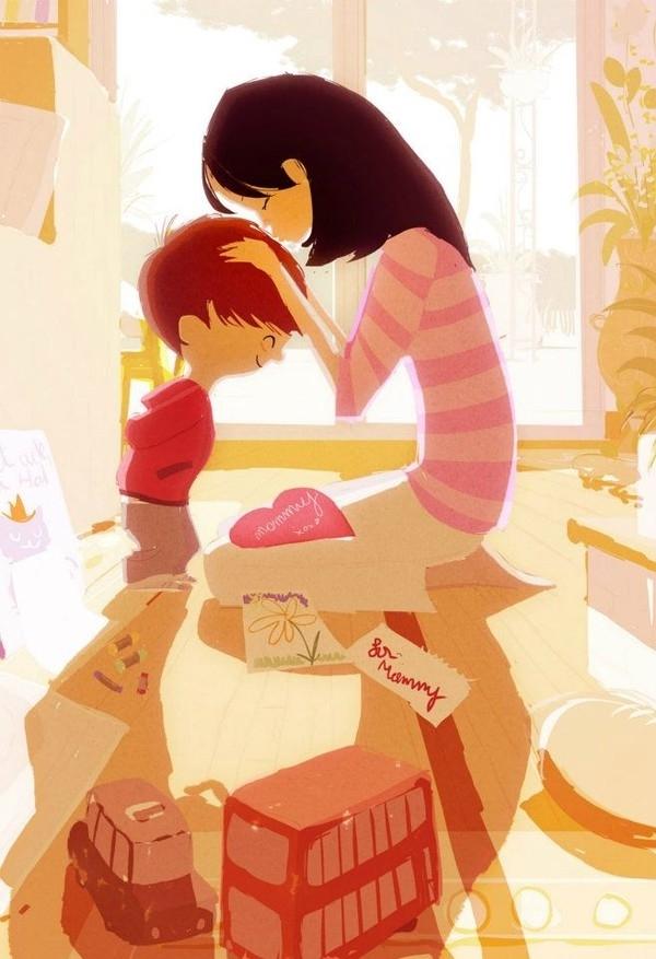 Khi tuổi trẻ qua đi thì tình yêu của những đứa con sẽ hâm nóng lại trái tim bạn.