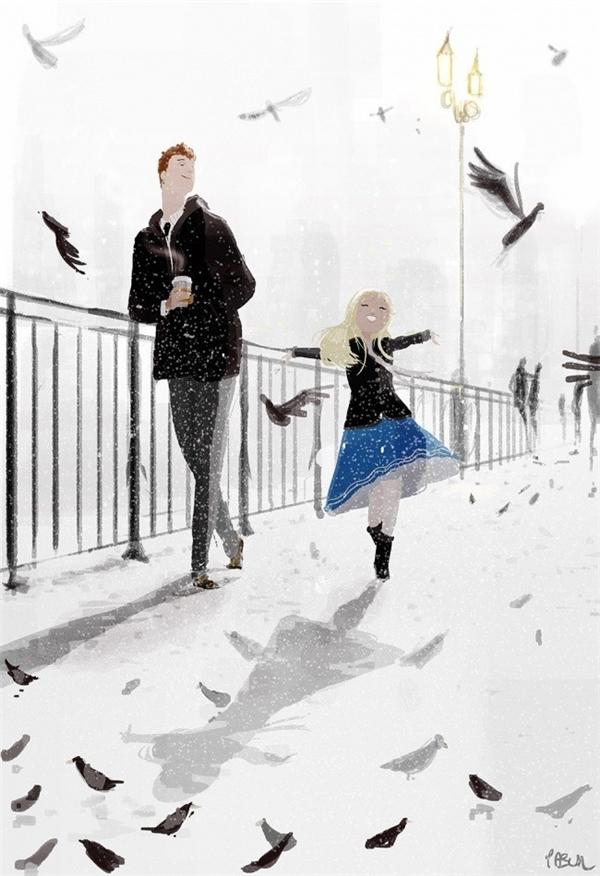 Mùa đông sẽ không bao giờ khó chịu nếu bạn biết tạo nụ cười cho riêng mình.