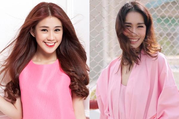 Cô gái Thái Lan giống Ngọc Thảo ở nhiều góc chụp.
