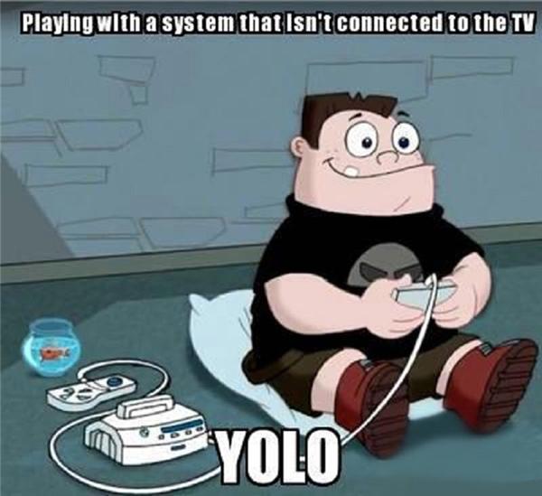 Chơi game mà không cần kết nối với màn hình TV? Yolo đi, đây là thế giới của các nhân vật hoạt hình.