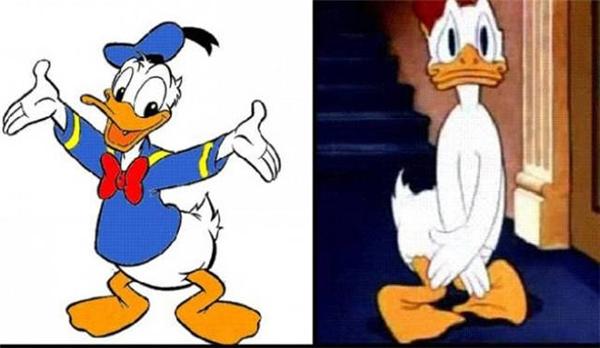Động cơcủa việc che chắn phần cơ thể không bao giờ được mặc quần áo của anh là gì, vịt Donald?