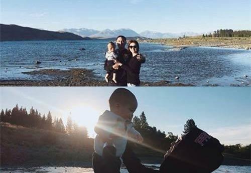 Hình ảnh gia đình hạnh phúc của Tăng Thanh Hà bên ông xã Louis Nguyễn cùng con trai luôn nhận sự quan tâm từ phía cộng đồng mạng. - Tin sao Viet - Tin tuc sao Viet - Scandal sao Viet - Tin tuc cua Sao - Tin cua Sao