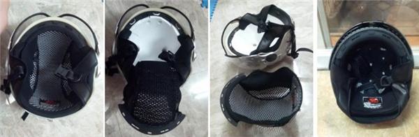 Đây thường là loại nón có tấm kính che mắt cùngphần đệm dày bảo vệ đầu và cằm. Để giặt loại nón này bạn cần tháo rời tất cả các bộ phận ra rồi giặt riêng từng cái. Sau đó đem phơi tất cả cho khô rồi mới ráp lại.