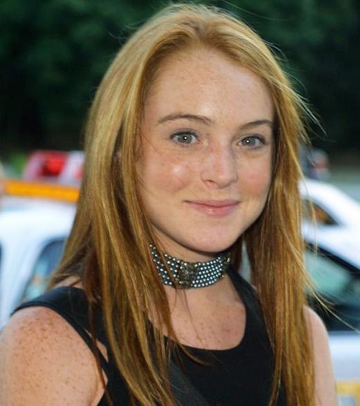 2001, Lindsay với vẻ ngoài trẻ trung và đang có một tương lai xán lạn phía trước.