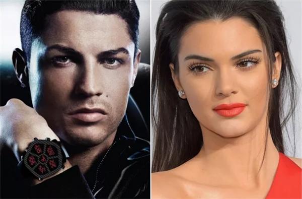 Kendall và các chị em trong nhà cũng cho rằng Ronaldo rất đẹp trai.