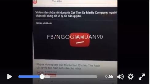 Lộ bằng chứng Phạm Hương vạch mặt ban tổ chức The Face