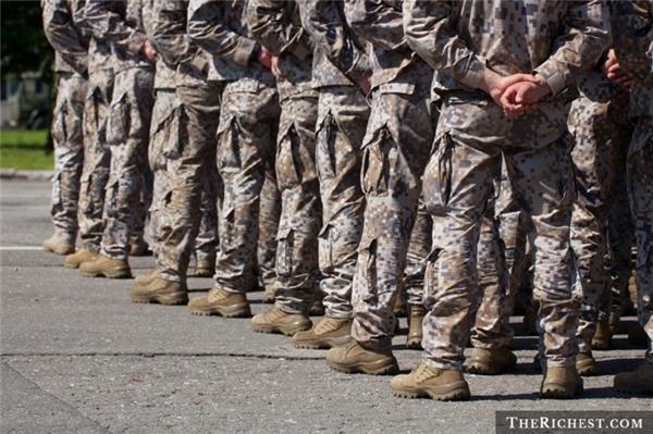 Quân nhân cũng nằm trong nhóm có tuổi thọ thấp.