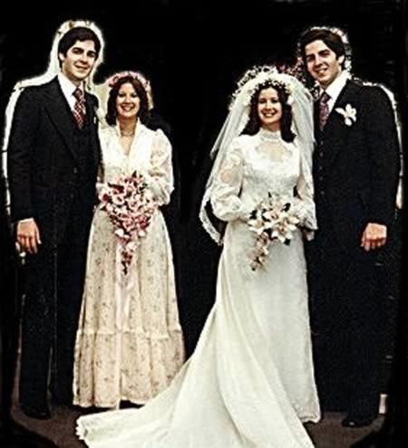Cho đến nay, hai cặp đôi vẫn chung sống hạnh phúc như mới cưới và đã có 5 mặt con cả thảy.(Ảnh: Internet)