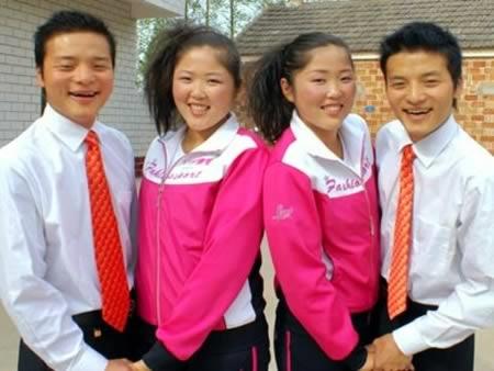 Yang Kang vàZhang Lanxiang, Yang Jiang và Jiang Juxiang.(Ảnh: Internet)