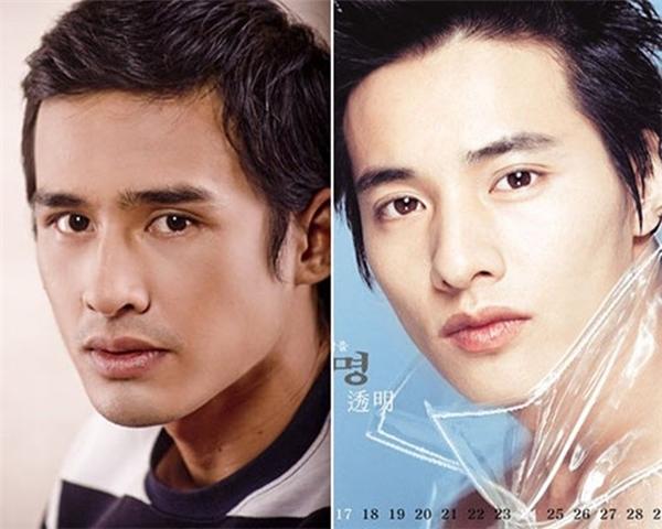 Lương Thế Thành và Won Bin có khá nhiều điểm tương đồng. Từ ánh mắt, chiếc mũi đến đôi môi của cả hai đều giống nhau tới kì lạ. - Tin sao Viet - Tin tuc sao Viet - Scandal sao Viet - Tin tuc cua Sao - Tin cua Sao
