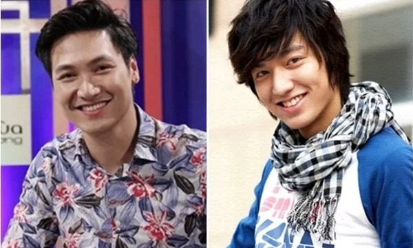 Ở góc nghiêng 3/4, dễ thấy Lee Min Ho,Mạnh Trường có nụ cười nửa miệng khá giống nhau. - Tin sao Viet - Tin tuc sao Viet - Scandal sao Viet - Tin tuc cua Sao - Tin cua Sao