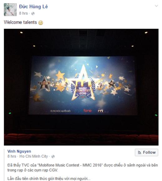 Mew Amazing – tác giả của hit Ừ thì, Thật bất ngờ… - hồi hộp chờ đón các tài năng từMobiFone Music Contest MMC 2016.