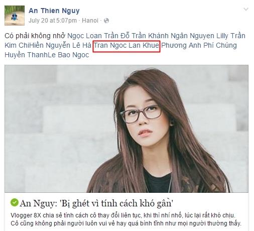 """An Nguy """"tag"""" Lan Khuê thay vì Phạm Hương. - Tin sao Viet - Tin tuc sao Viet - Scandal sao Viet - Tin tuc cua Sao - Tin cua Sao"""