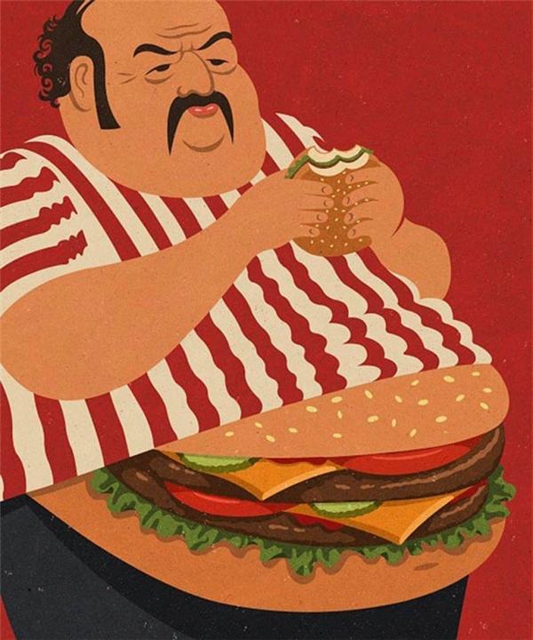 Ăn cái gì thì thành ra cái ấy.